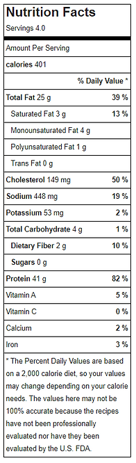 Chicken parmesan nutritional facts.PNG