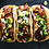 Thumbnail: Three Carnitas Street Tacos with Mexican caulirice 