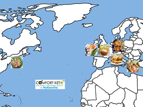 Comfort Keto's World Culinary Tour Continues In The Week Of October 11th