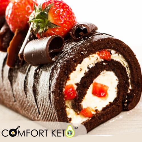 Keto Swiss Roll - Chocolate Flavored