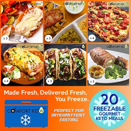 CK Summer Menu - Freezable - 20 Meals IF
