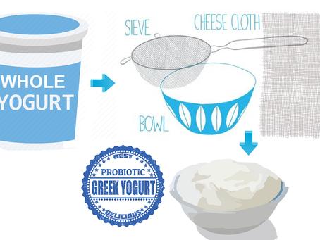 Turn Your Regular Whole Yogurt Into Ketogenic Greek Yogurt