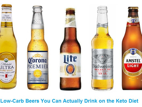 Low-Carb Beers You Can Actually Drink on Keto Diet