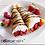 Thumbnail: Keto Berry Crepes - 6 Vanilla Mousse Cream Rolls