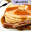 Thumbnail: Keto Pumpkin Pancakes with pork sausage, butter and keto syrup