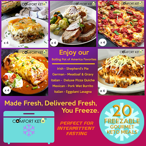 CK Fall Menu 2 - Freezable - 20 Meals IF