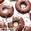 Thumbnail: Keto Doughnuts - Dark Chocolate Glazed - 6 Serv.