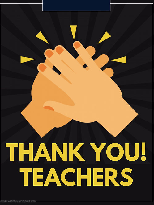 Teacher Appreciation Week - Increase qty for desired donation amount