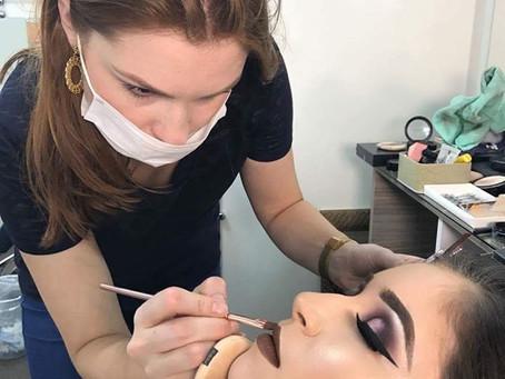 Curso Profissional de Maquiagem | Aluna Carol Fernandes