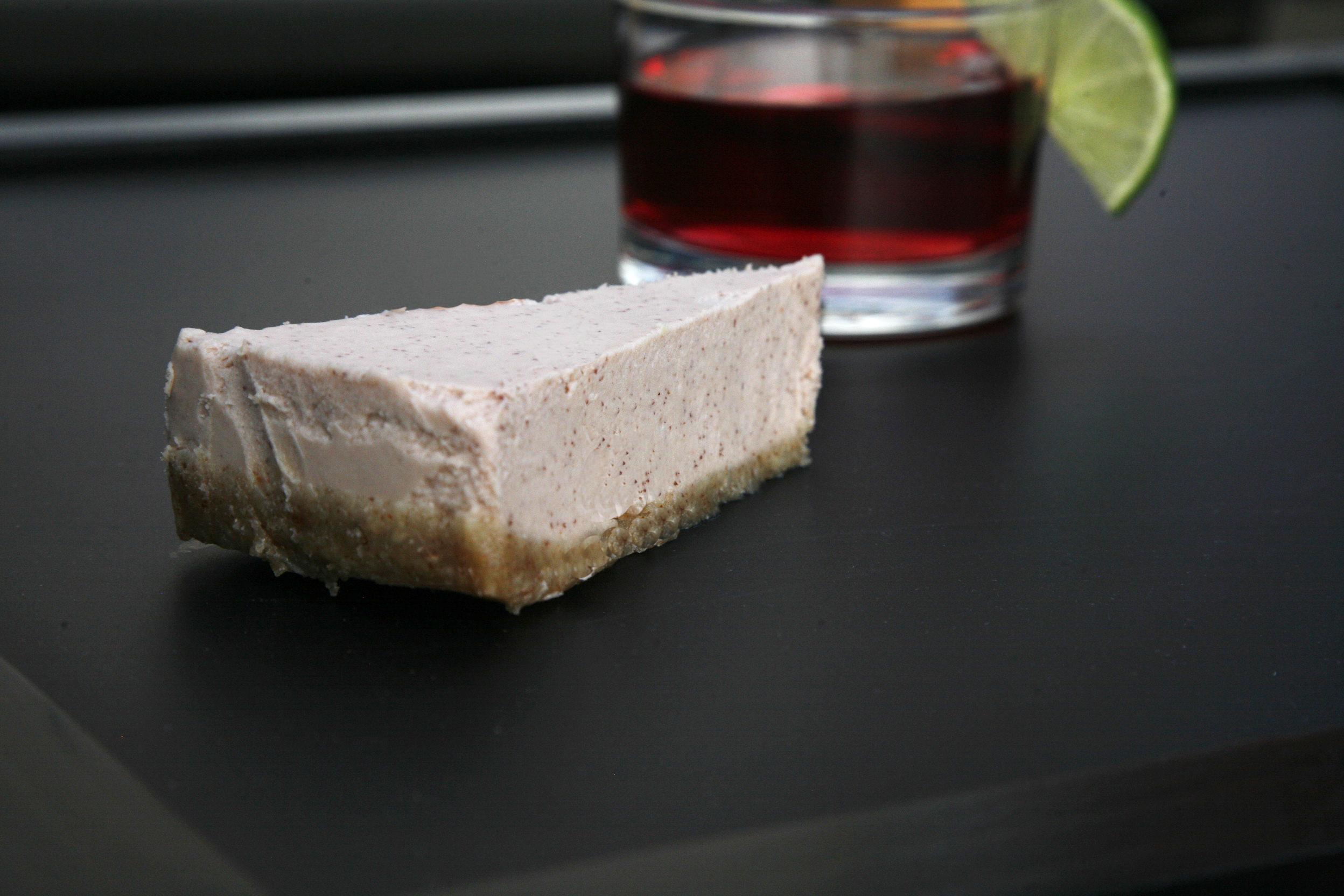 Craneberry raw cake