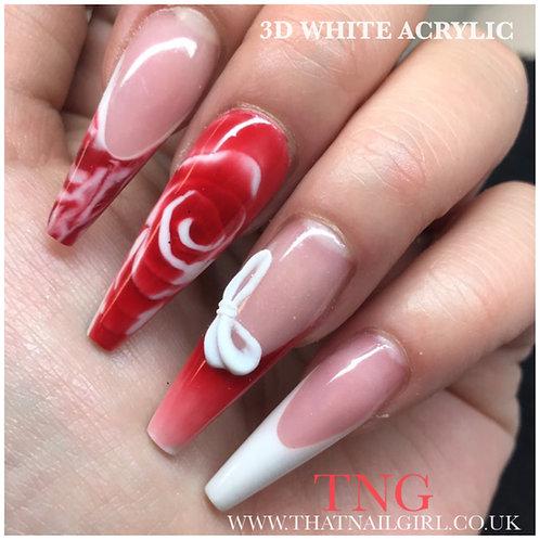 TNG WHITE ACRYLIC 20g