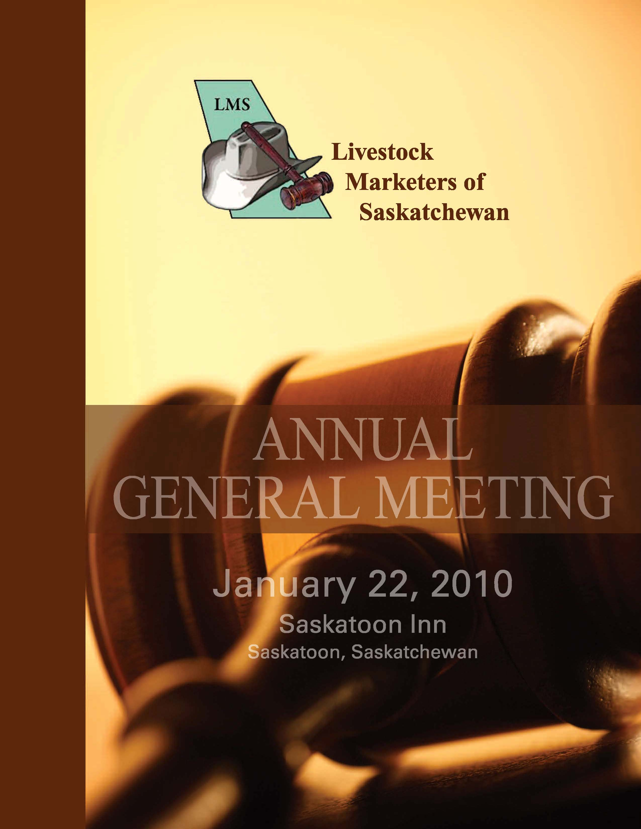 Livestock Marketers of Saskatchewan 2009