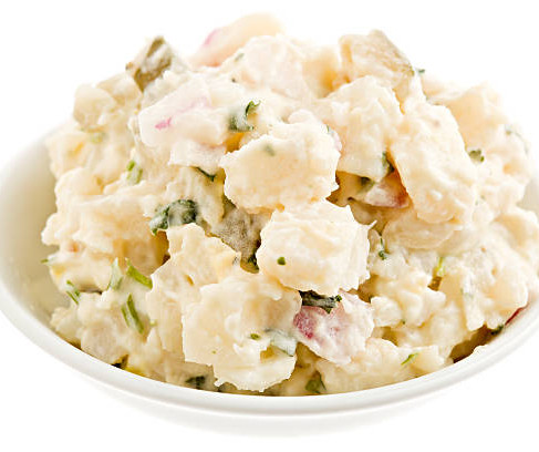 Your Stay-At-Home Easter recipe: Potato Salad with Smokey Boneless BBQ pork ribs