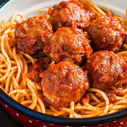 Pasta from Scratch with Meatballs