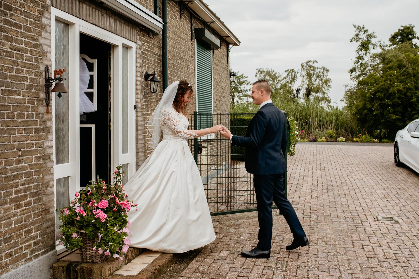 Bruiloft Oud-Alblas