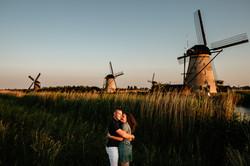 Pre-weddingshoot Kinderdijk