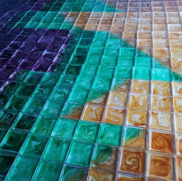 玻璃装饰墙