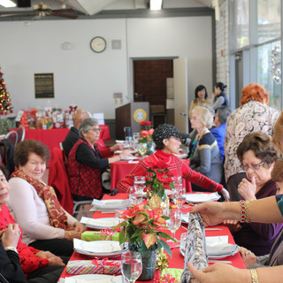 Holiday Gala at Doelger Senior Center