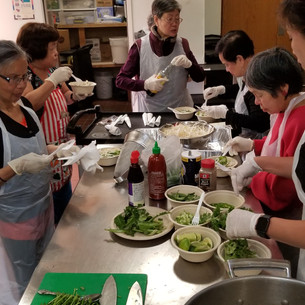 Cooking Class at Lincoln Park Community Center
