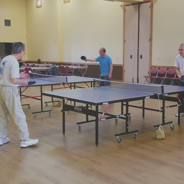 Ping Pong at Lincoln Park Community Center