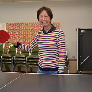 Ping Pong at Doelger Senior Center