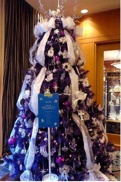 purple peace tree