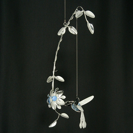 Hummingbird Mobile w/Suncatcher