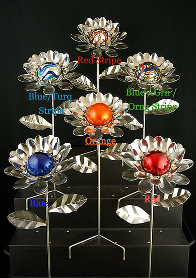 Glass Ball Flower   $95.00