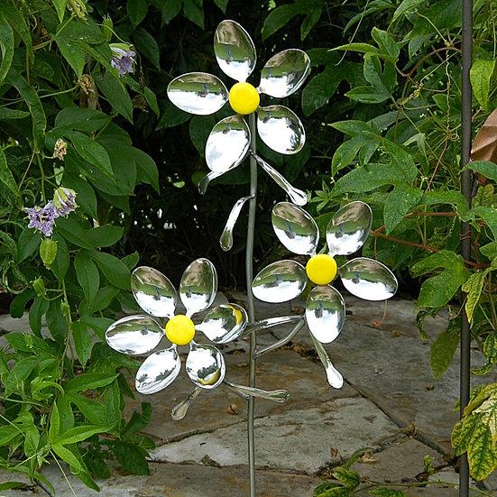 Garden Variety Triple Flower Stake  $60.00