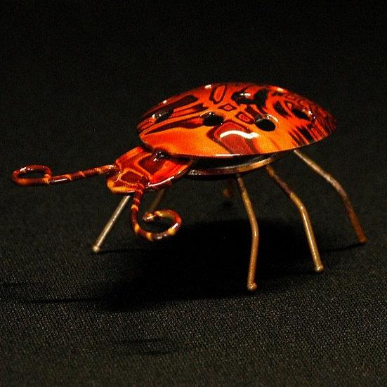 Ladybug Hydro Dipped
