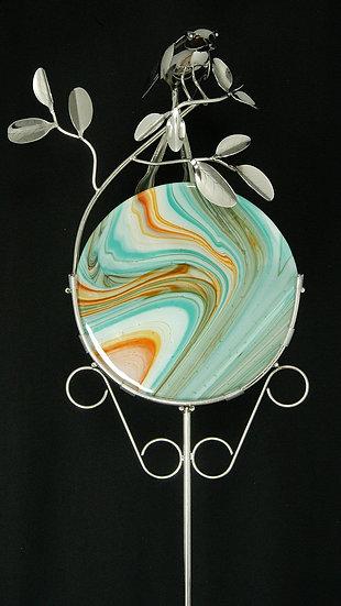 Scissortail w/Glass Disc Garden Stake $265.00