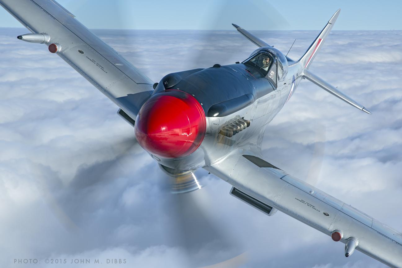 1945 Supermarine Spitfire 18