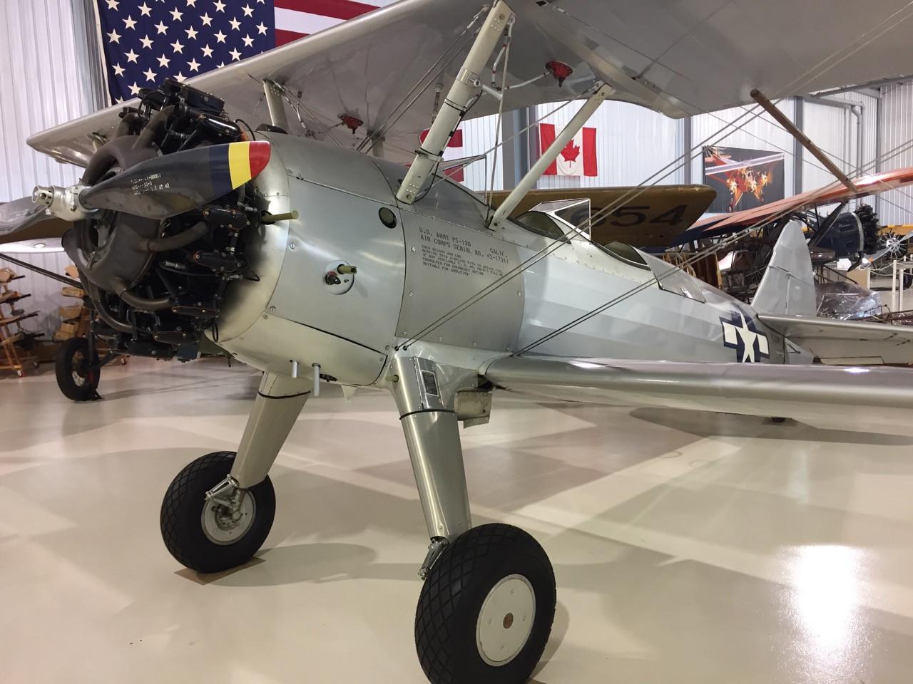 1941 Boeing Stearman E-75 For Sale