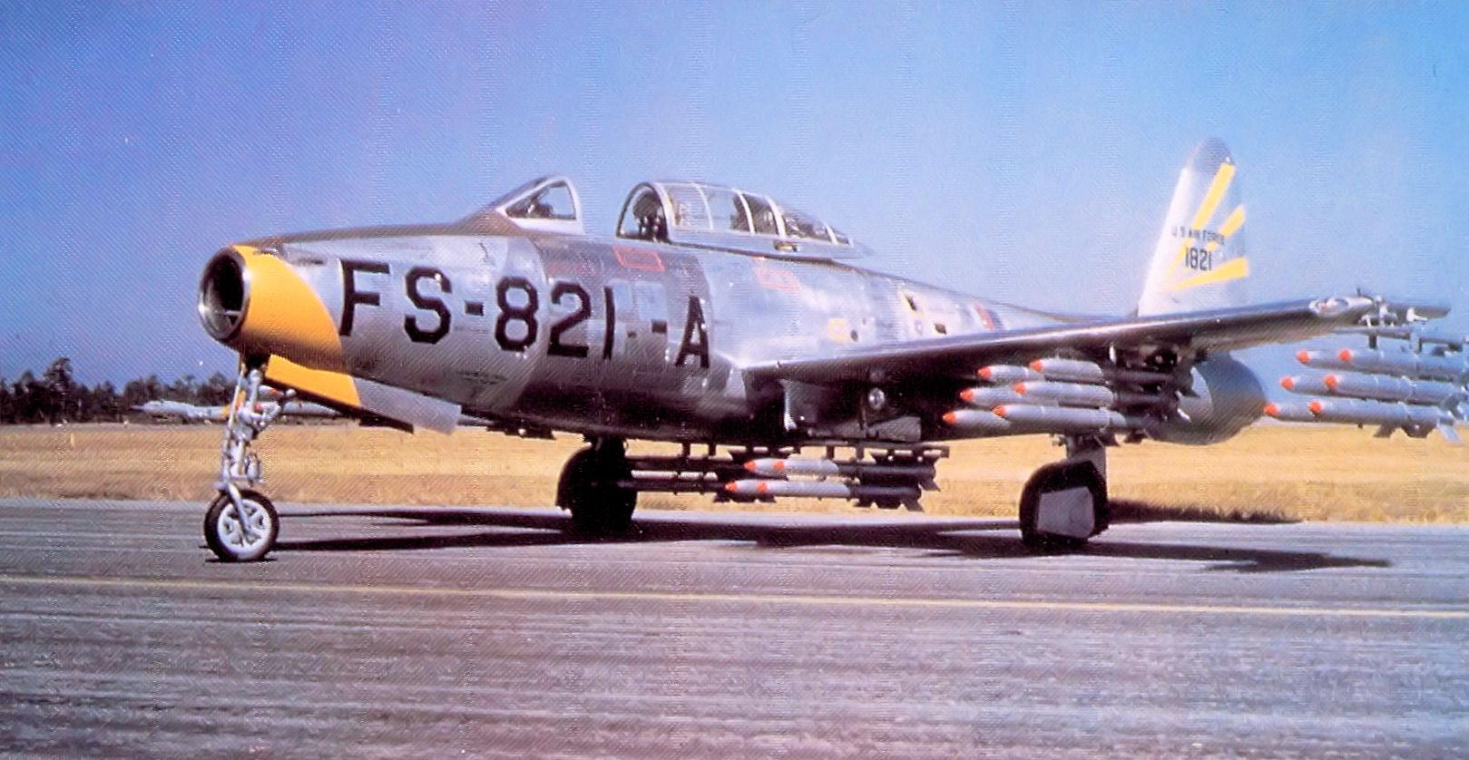 Republic F-84G Thunderjet Project