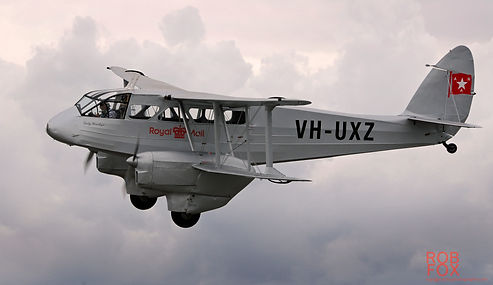 1944 deHavilland DH89A Dragon Rapide