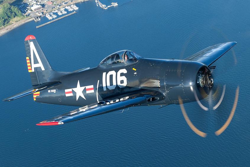 Grumman F8F-2 Bearcat N800H