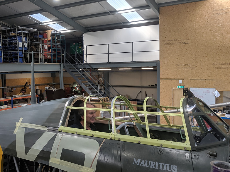 The World's only two seat dual control Hawker Hurricane For Sale