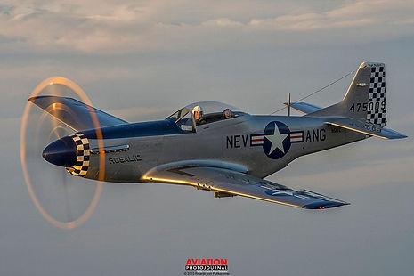 "1944 North American P-51D ""Rosalie"""