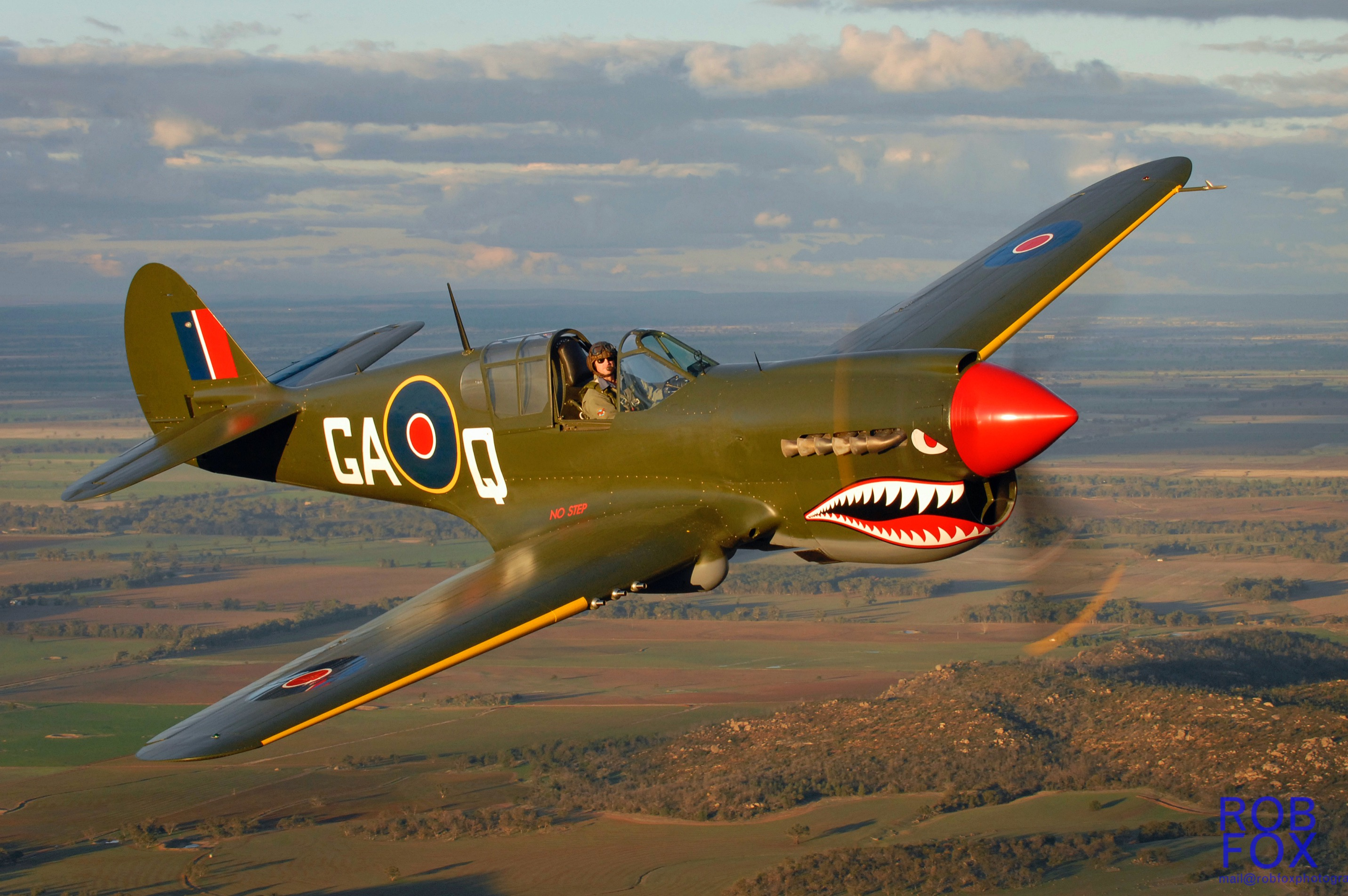 "1943 Curtiss Wright P-40N-1 ""Kittyhawk"""