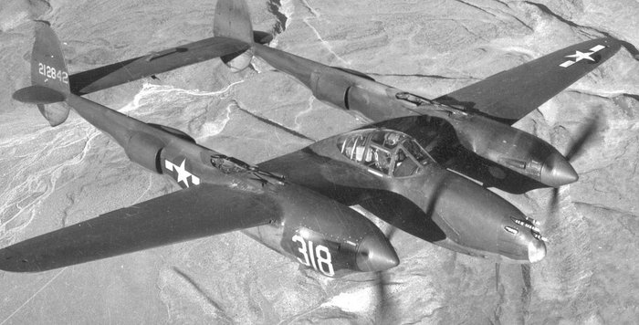 1942 Lockheed P-38H-1-LO Lightning Project