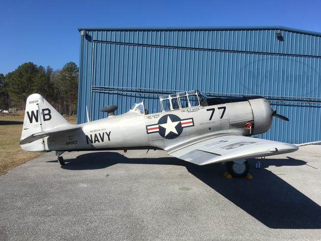 North American SNJ-5 N3931R