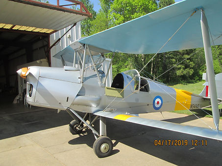 1941 DeHavilland DH82A Tiger Moth