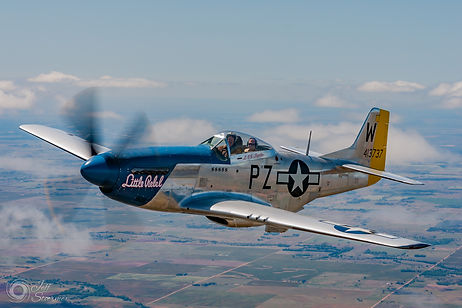 "1945 North American Aviation P-51D ""Little Rebel"""