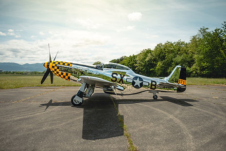 """1944 North American TF-51 """"Double Trouble Two"""""""