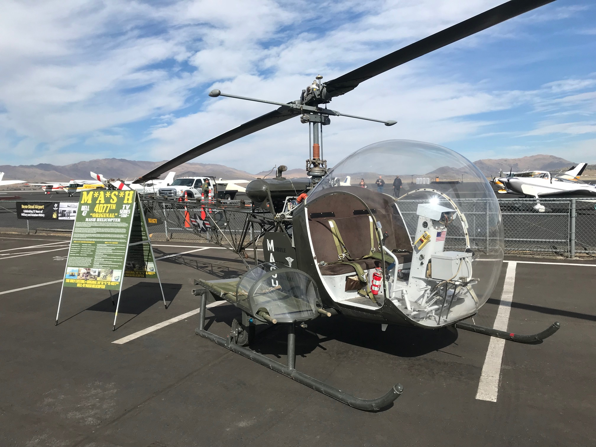 1951 M.A.S.H Bell 47