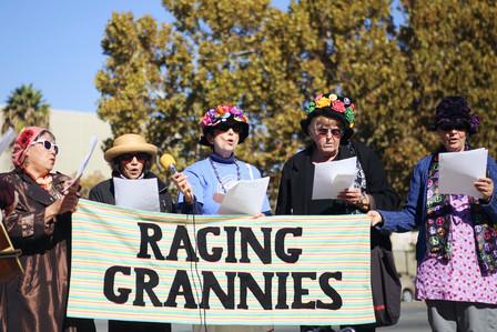 Raging Grannies & Radical Cheerleaders