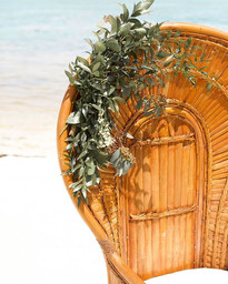 Our Tahitian fan back chair makes a beau