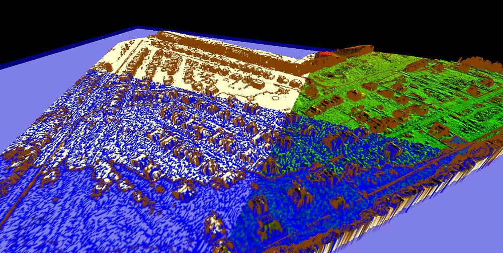 Моделирование подъема уровня воды