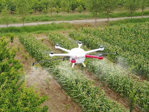 ParaGraf.ru | Сельскохозяйственный дрон для опрыскивания GAIA 160-AG