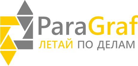 Логотип ParaGraf.ru | Летай по делам